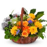 꽃과일바구니(싱그러운향기 가득담아..)