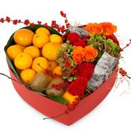 과일꽃하트상자(예쁜상자가득담아~~)
